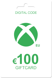 The cheapest Xbox Gift Card 100 Euro in Europe