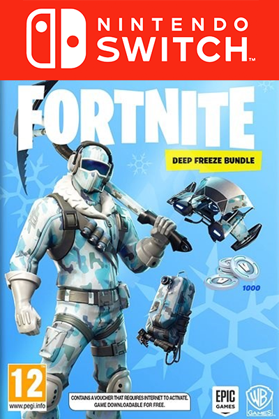The Cheapest Fortnite Deep Freeze Bundle Dlc For Nintendo Switch In Europe
