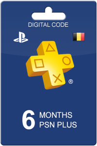 PlayStation Plus 180 days BE