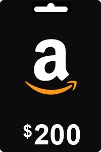 Amazon Gift Card 200 USD