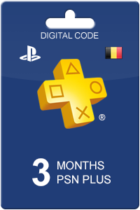 PlayStation Plus 90 days BE