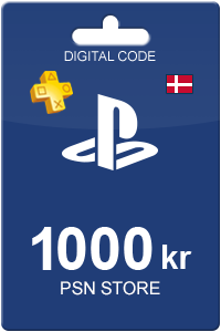 Playstation Network Card 1000 DKK