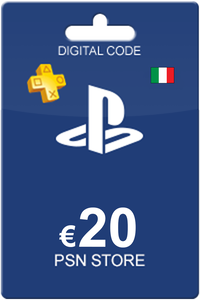 Playstation Network Card 20 Euro IT