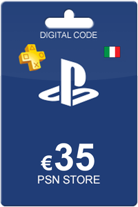 Playstation Network Card 35 Euro IT
