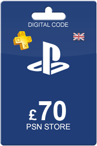Playstation Network Card 70 GBP