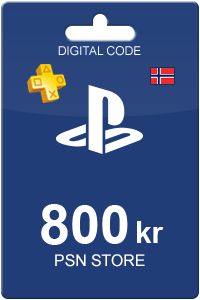 Playstation Network Card 800 NOK