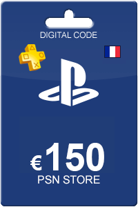 Playstation Network Card 150 Euro FR
