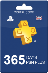PlayStation Plus 365 days UK