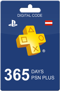 Playstation Plus 365 days Austria