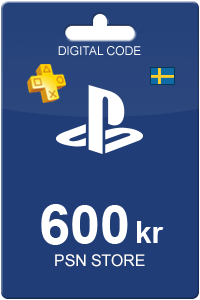 PlayStation Network Card 600 SEK