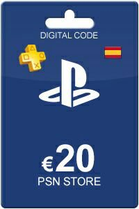 Playstation Network Card 20 Euro ES