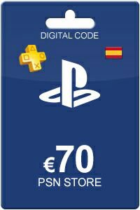 Playstation Network Card 70 Euro ES