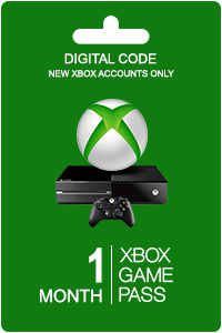 Xbox Game Pass 1 month (New Accounts)
