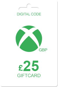 Xbox Gift Card 25 GBP