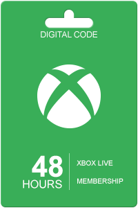 Xbox Live 48 Hour Subscription