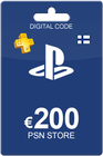Playstation Network Card 200 Euro FI