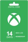 Xbox Live 14 Day Subscription