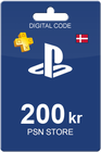 Playstation Network Card 200 DKK