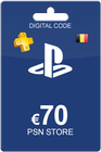 Playstation Network Card 70 Euro BE