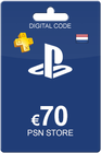 Playstation Network Card 70 Euro NL