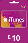iTunes Gift Card 10 GBP UK