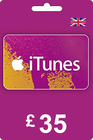 iTunes Gift Card 35 GBP UK
