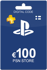 Playstation Network Card 100 Euro FI