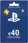 Playstation Network Card 40 Euro IT