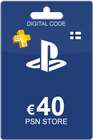 Playstation Network Card 40 Euro FI