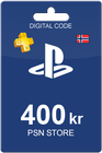 Playstation Network Card 400 NOK