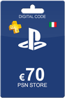 Playstation Network Card 70 Euro IT