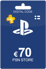Playstation Network Card 70 Euro FI