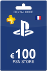 Playstation Network Card 100 Euro FR