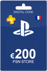 Playstation Network Card 200 Euro FR