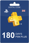 PlayStation Plus 180 days UK