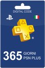PlayStation Plus 365 days IT