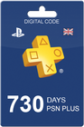 PlayStation Plus 730 days UK