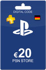 Playstation Network Card 20 Euro DE
