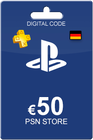 Playstation Network Card 50 Euro DE