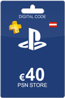 PlayStation Network Card 40 Euro Austria