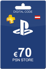 PlayStation Network Card 70 Euro Austria