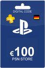 Playstation Network Card 100 Euro DE