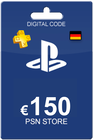 Playstation Network Card 150 Euro DE