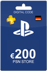 Playstation Network Card 200 Euro DE