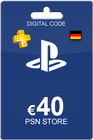 Playstation Network Card 40 Euro DE