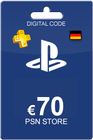 Playstation Network Card 70 Euro DE