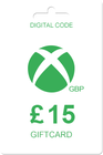 Xbox Gift Card 15 GBP