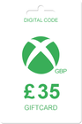 Xbox Gift Card 35 GBP