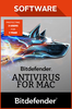 Bitdefender Antivirus for Mac 2017 3 users 1 year